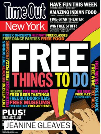 time out free things to do this weekend