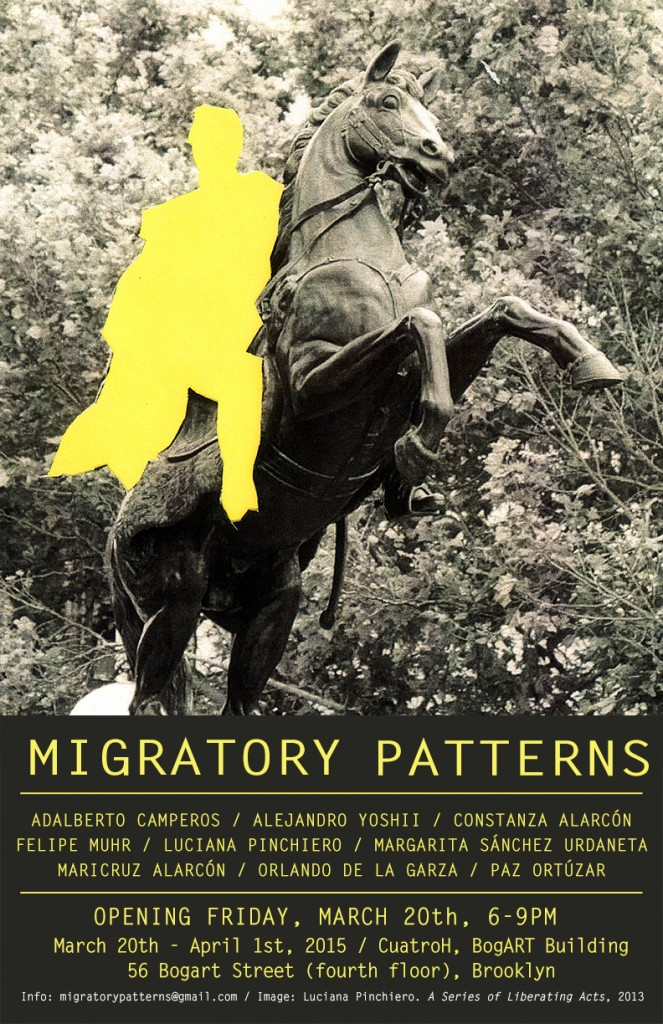 Student and Alumni featured in Migratory Patterns