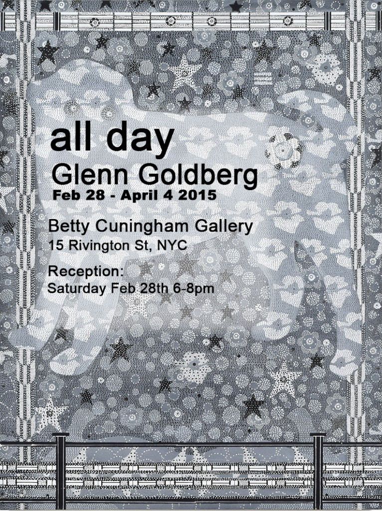 Faculty Glenn Goldberg's Solo Show at Betty Cunningham Gallery