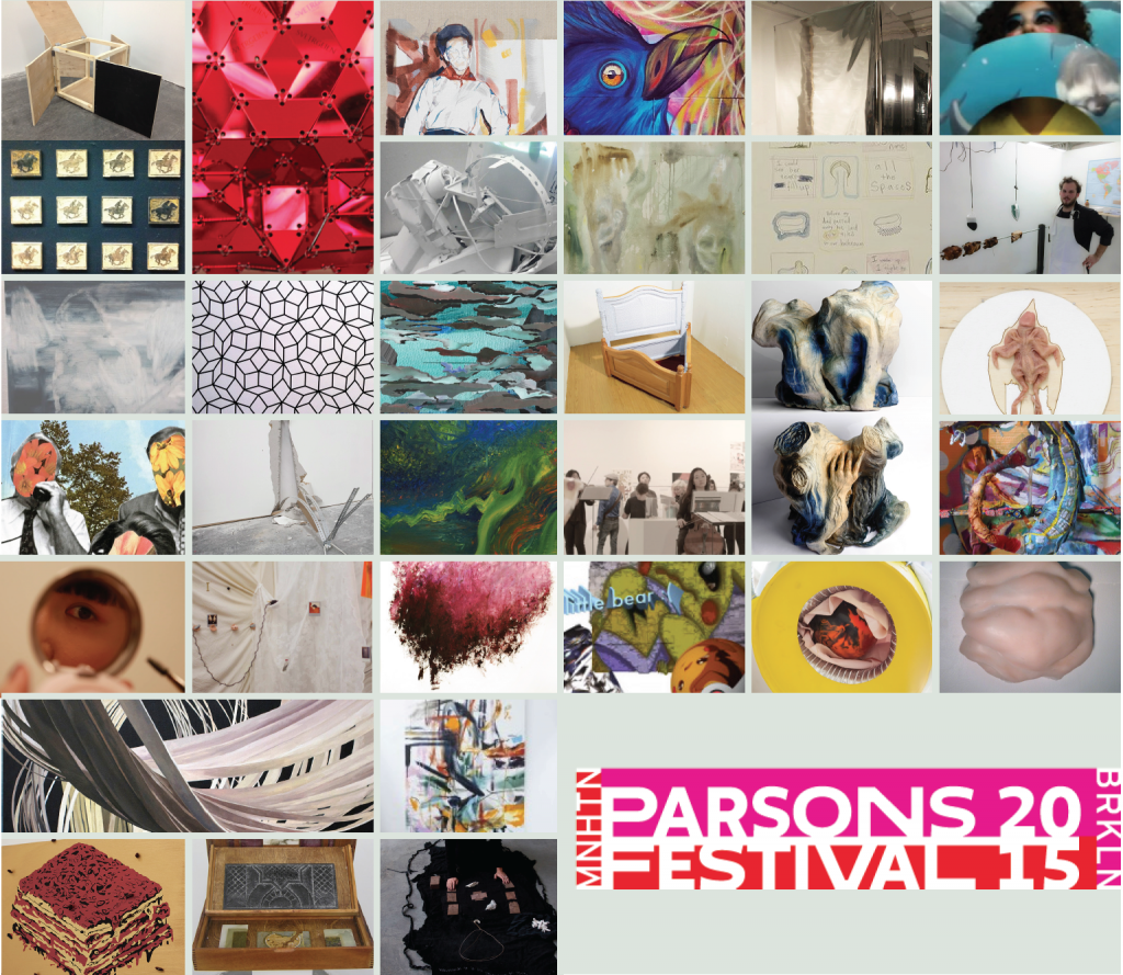 2015 Parsons BFA Fine Arts Senior Thesis Exhibition