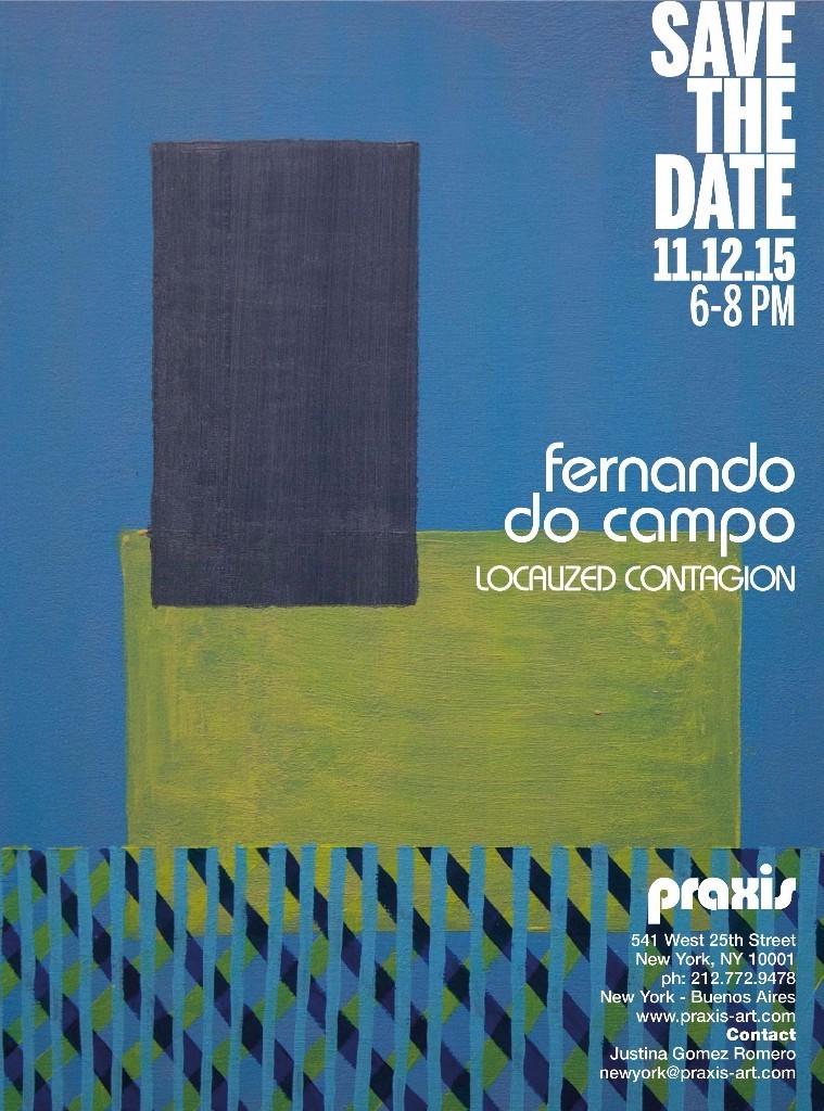 MFA student Fernando Do Campo presents a site-specific installation