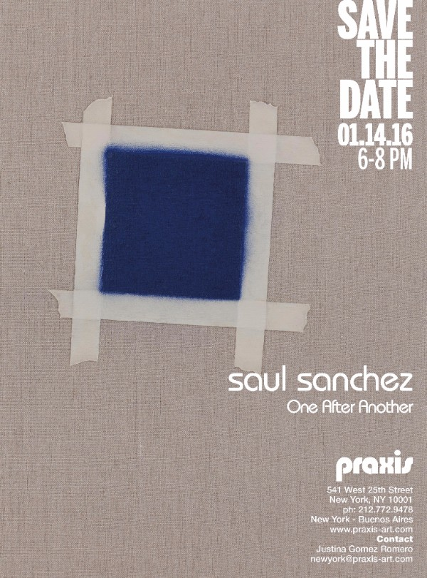Solo Show by MFA student Saul Sanchez at Praxis Gallery