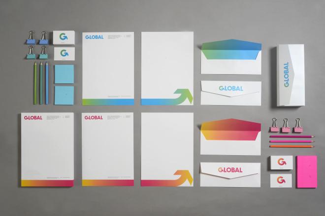 Global, print design
