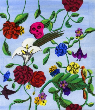 Musically Inspired Pattern, Rebecca Flato