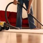 Man using hot rod vacuum cleaner