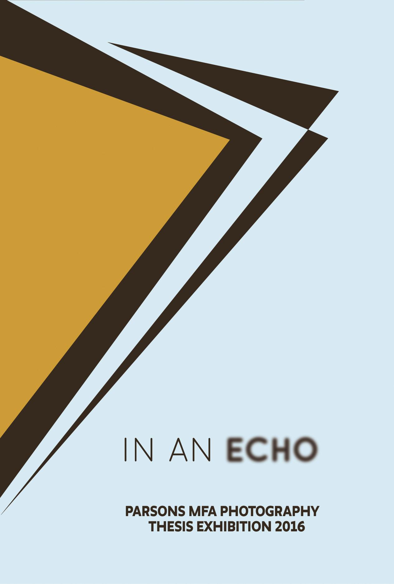 In An Echo