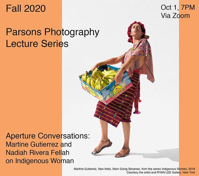 Parsons Aperture Conversations: Martine Gutierrez and Nadiah Rivera Fellah on Indigenous Woman