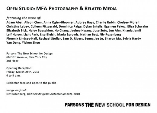 MFA Pho Open Studio postcard_back