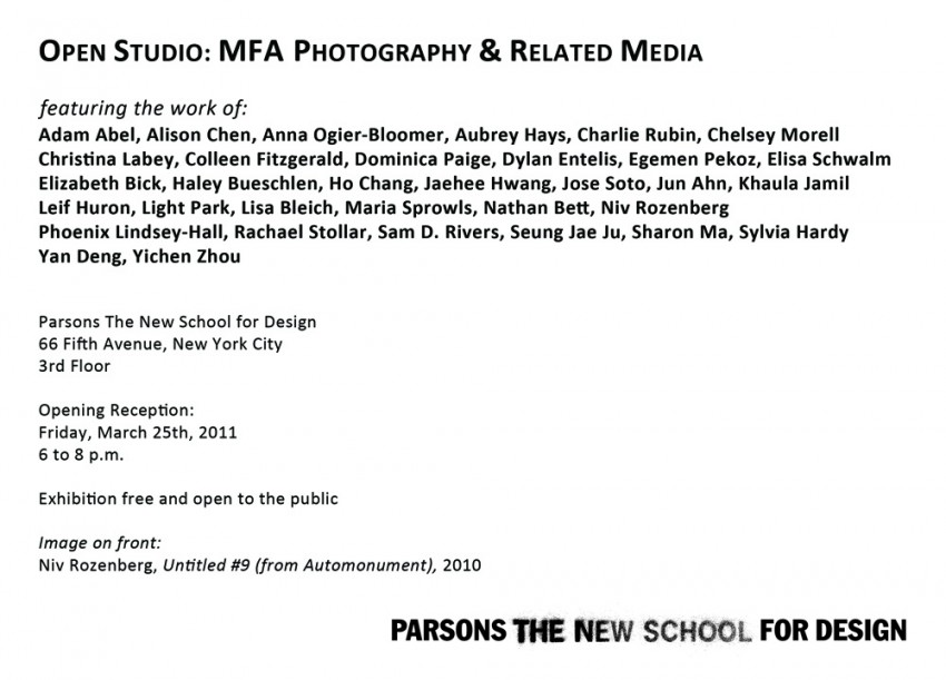 MFA Pho Open Studio postcard_back