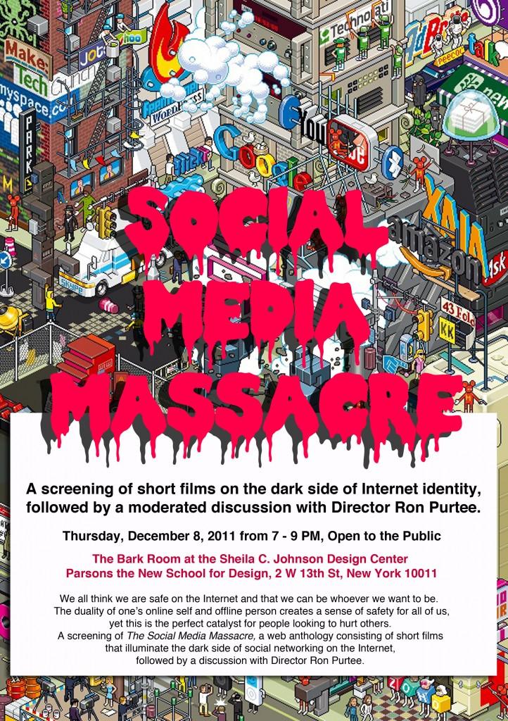 Social Media Massacre Poster