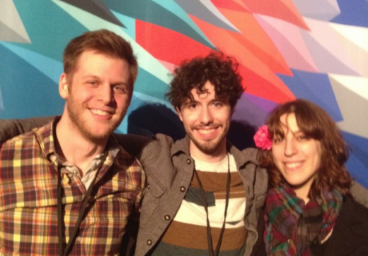 Andy, Nick and Jane at IndieCade East 2013