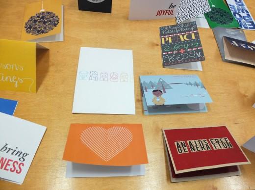 Winning designs from Julia Gorton's Designing For Non-Profits Class.