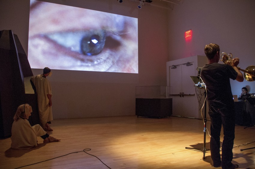 Documentation of Hear, Here at the New Museum on June 14, 2014.