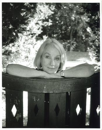 "Jane Wilson, Southampton, New York, August 1996, ""The Whitney Project."" Photograph by John Jonas Gruen."