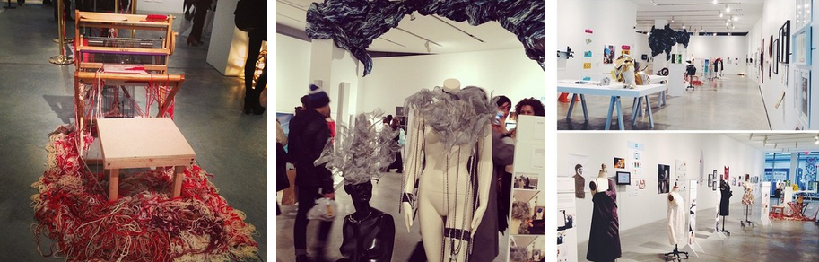 """View from last years all-Parsons show, """"Making Meaning"""""""