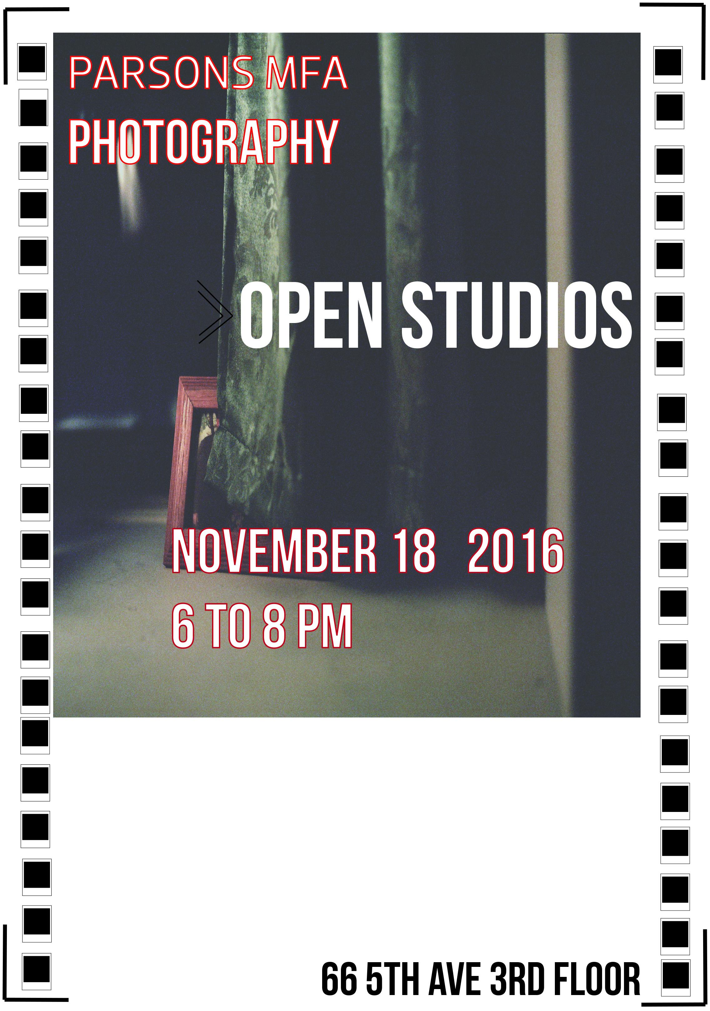 Open Studios fall 2016